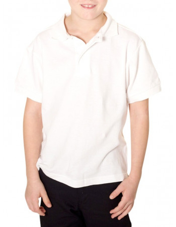 Kids Access Polo t-shirt White