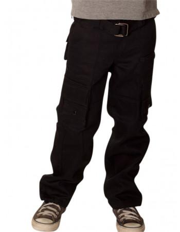 Kids Access Cargo Pants Black