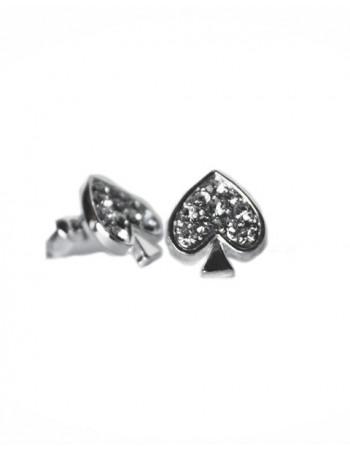 Earring / Ørestikker, Spades