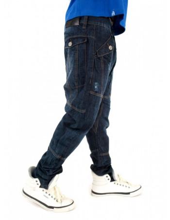Premium Streetwear Extra Drop Crotch Carrot Jeans