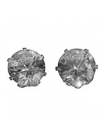 Earring / Ørestikker, Diamond 10mm