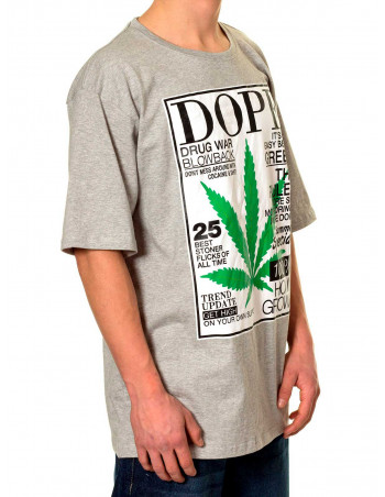 Townz Home Grown n Dope Grey T-shirt
