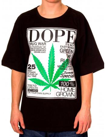 Townz Home Grown n Dope Black T-shirt