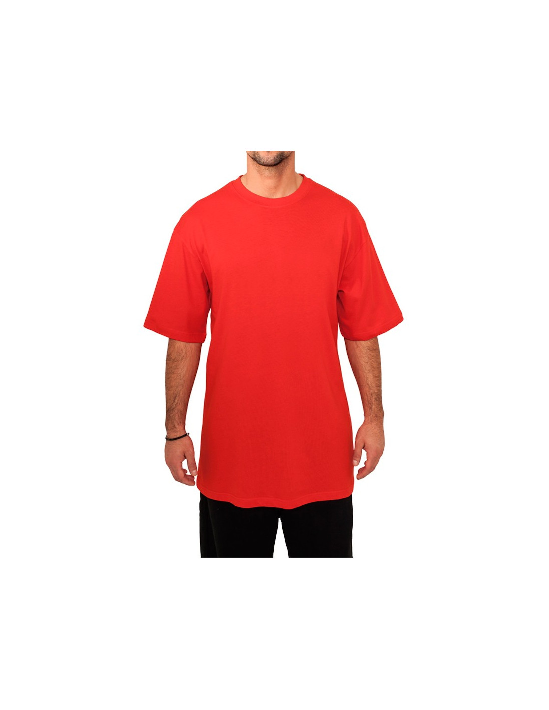 Classic Long Tee Red