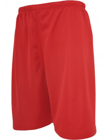 Urban Kids Bball Mesh Shorts red