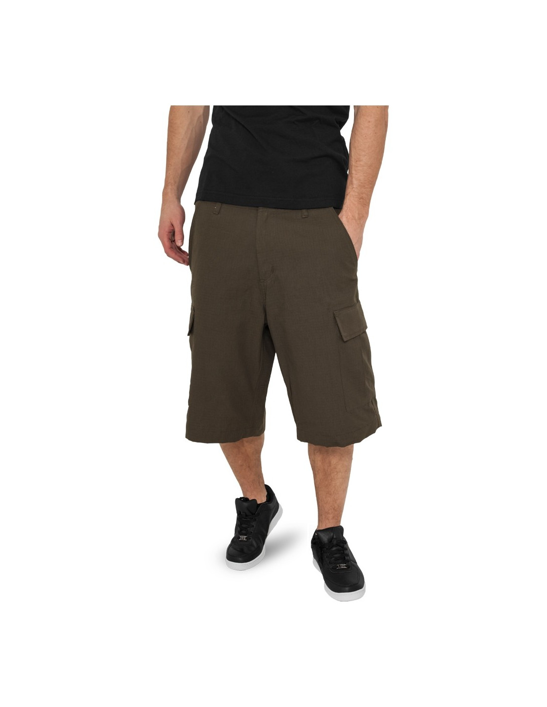 Urban Camouflage Cargo Shorts olive