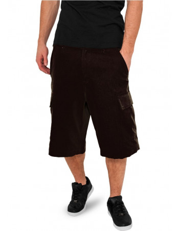 Urban Camouflage Cargo Shorts black