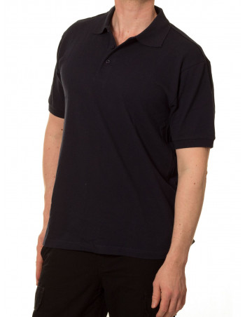 Access Plain Polo Navy