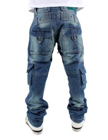 Brooklyn Mint Combat Cargo Denim Jeans