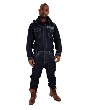 Brooklyn Mint Denim Jumpsuit Jeans Dungarees