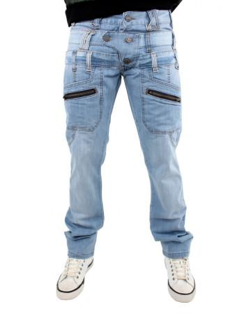 Brooklyn Mint Triple Solo Snow Wash Jeans