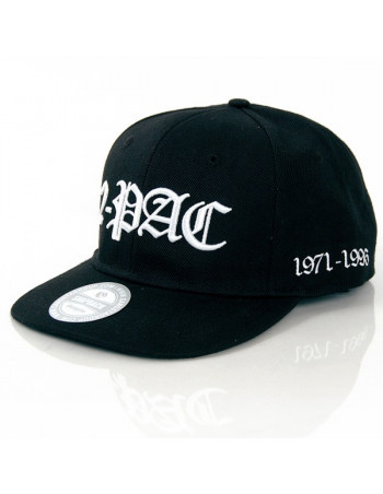 2-Pac In Memory of Black Snapback