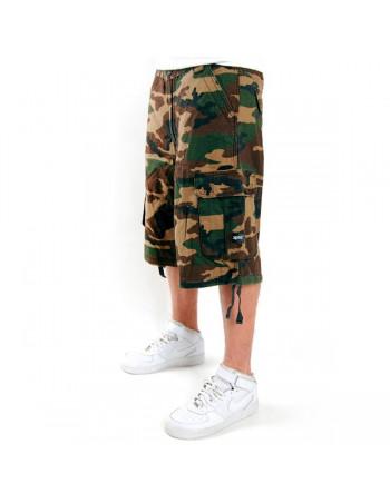 2-Pac Cargo Shorts Wood Camo Enemy