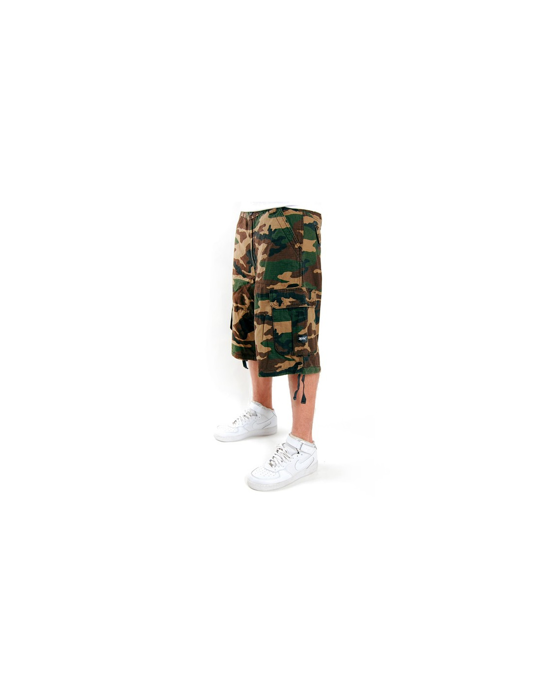 2-Pac Cargo Shorts Wood Camo Enemy