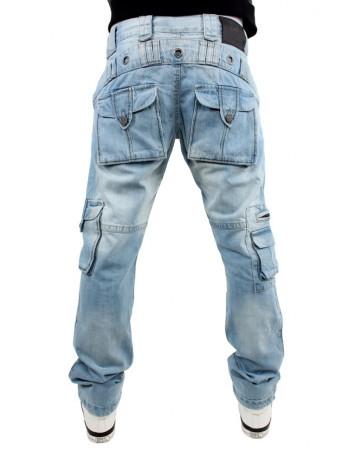 Brooklyn Mint Light Cargo Combat Jeans