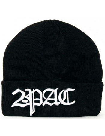 2-Pac Black Beanie The Logo