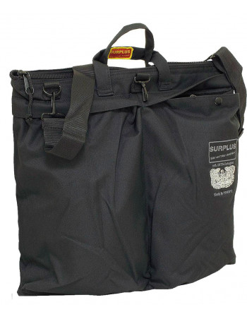 Surplus Pilots Laptop Bag Black
