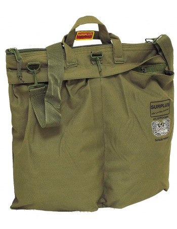 Surplus Pilots Laptop Bag Olive