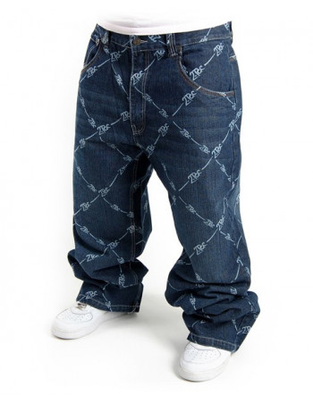 2-Pac All Over Jeans