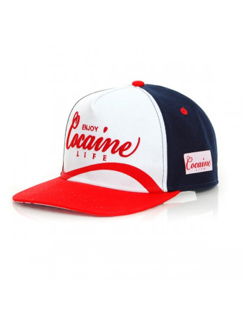 Enjoy Cocaine Life Cap One-size