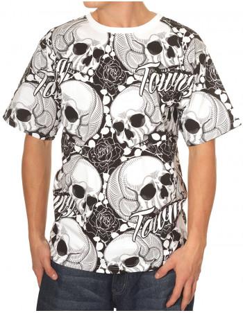 Skulls Deep Baggy Tee Townz Brand