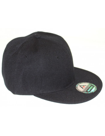 Access Snapback Cap Black