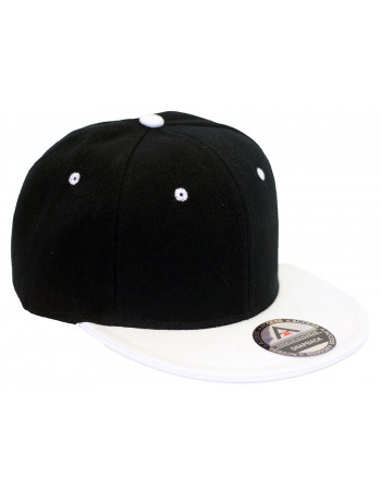 Access Snapback Cap Black/White