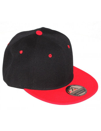 Access Snapback Cap Black/Red