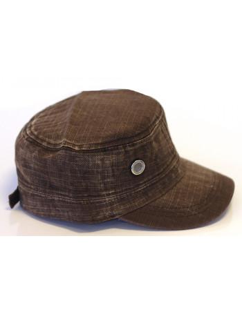 Identity Plain Vintage Cap/ Brown