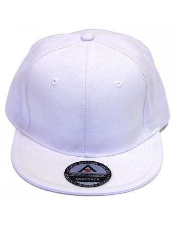 Access Snapback Cap White
