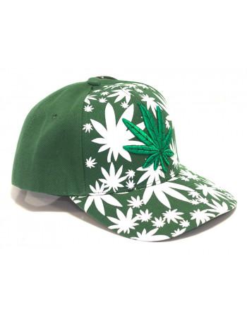 Identity Weed Baseball Cap/Green