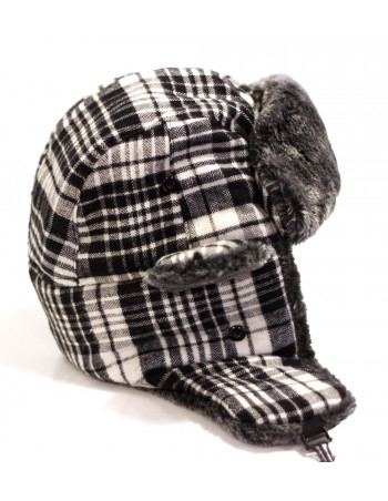 Identity Winter Hat/Plaid