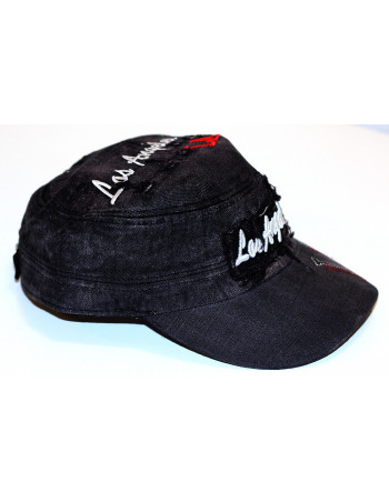 LA Vintage Fashion Cap/ Dark