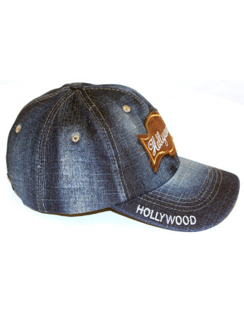 Hollywood Vintage Fashion Cap/Blue
