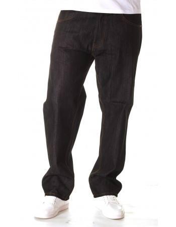 Access Loose Fit Jeans /Raw Denim Black