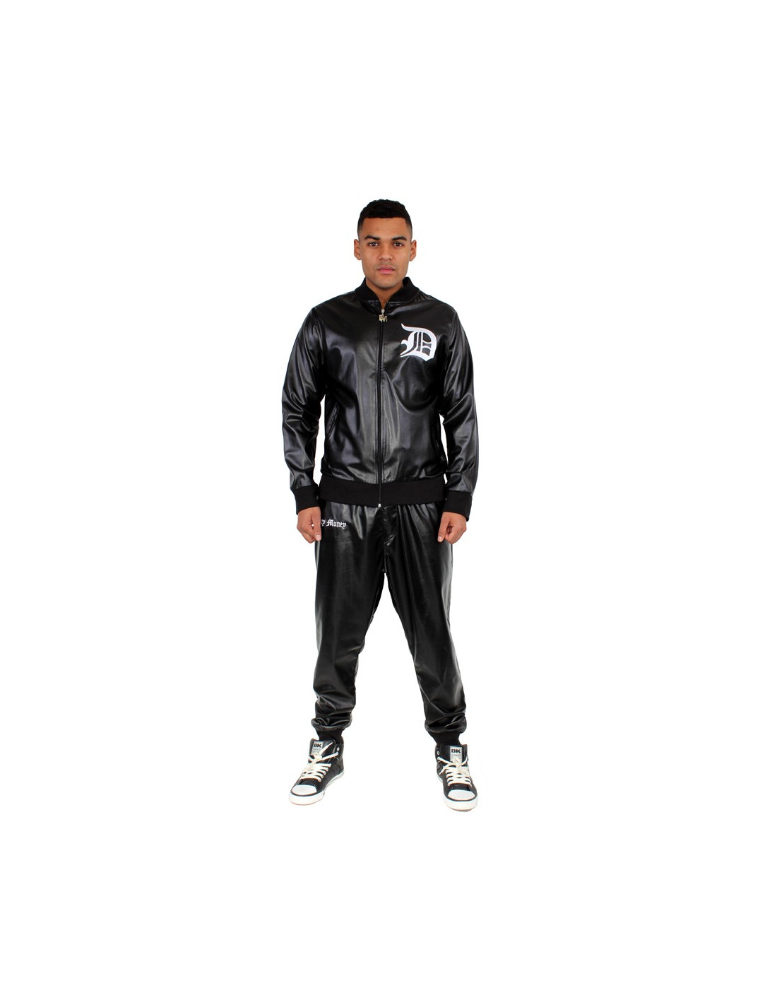 Dirty Money Drop Crotch Harem Tracksuit
