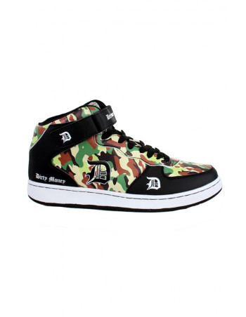 Dirty Money Camo Sneakers