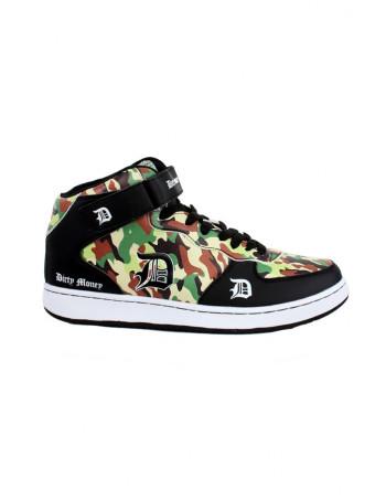 Dirty Money Camo Sneakers