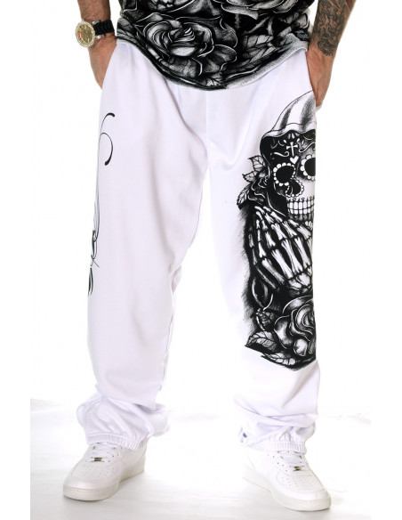 Praying Scull Sweatpants by BSAT