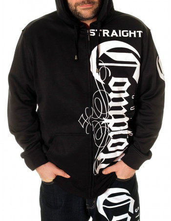 Straight Outta Compton Hoodie Black by BSAT