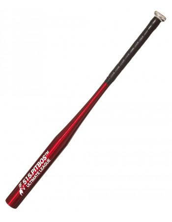 PITBOS5.515 Red Baseball Bat Alu