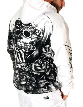 Praying Skull Hoodie by BSAT