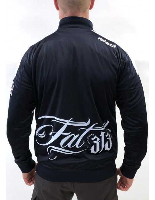 FAT313 Master Track Jacket Signature Blue