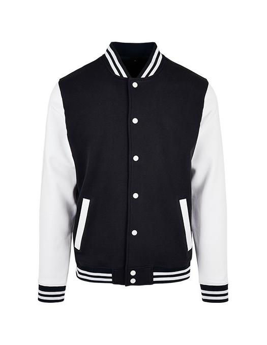 College Jacket BlackNWhite