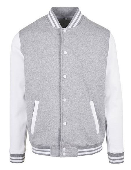 College Jacket GreyNWhite