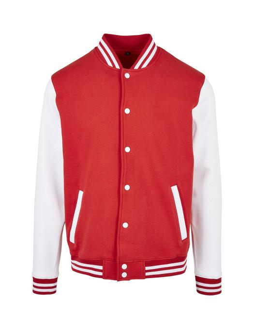 College Jacket RedNWhite